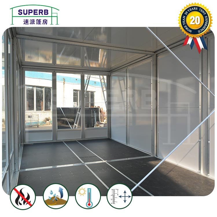 Double Deck Booth Tent