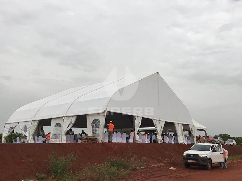 reception catering tent for wedding