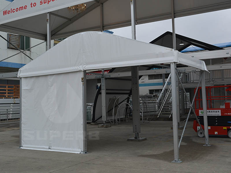 White Outdoor Tent