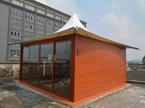 Six-side lodge tenda safari tendas hotel com parede de vidro